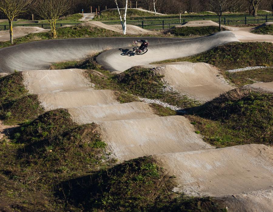 Booths Bike Track