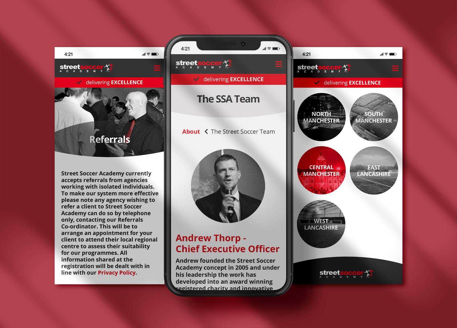 SSA Mobile Views