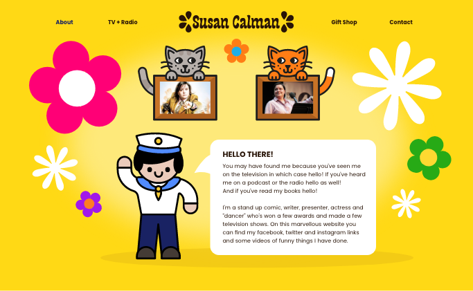 Susan Calman Home Page