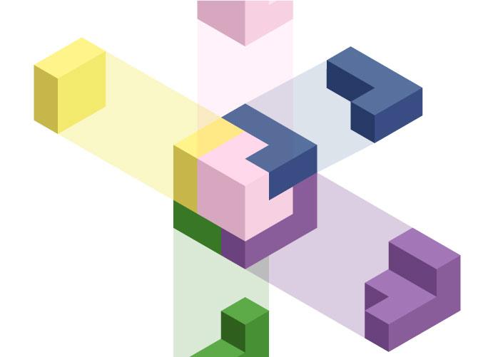 5 elements cube